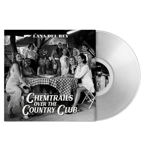 Chemtrails Over The Country Club (Exclusive Transparent Vinyl) by Lana Del Rey - Coloured LP - shop now at Lana del Rey store