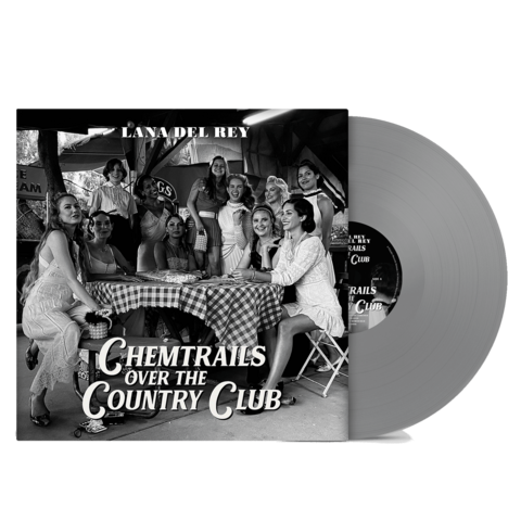Chemtrails Over The Country Club (Exclusive Grey Vinyl) by Lana Del Rey - Coloured LP - shop now at Lana del Rey store
