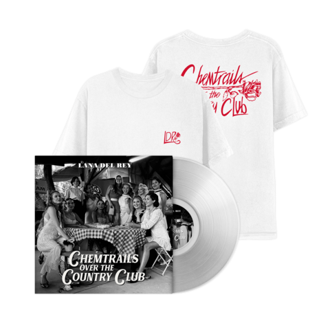 √Chemtrails Over The Country Club (Excl. Transparent LP + T-Shirt) von Lana Del Rey - lp bundle jetzt im Lana del Rey Shop