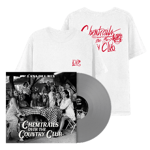 Chemtrails Over The Country Club (Excl. Grey LP + T-Shirt) by Lana Del Rey - LP bundle - shop now at Lana del Rey store