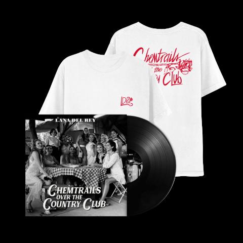 √Chemtrails Over The Countryclub (LP + T-Shirt) von Lana Del Rey - lp bundle jetzt im Lana del Rey Shop