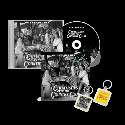 √Chemtrails Over The Country Club (CD + Key Chain + Signed Card) von Lana Del Rey - CD + Schlüsselanhänger jetzt im Lana del Rey Shop