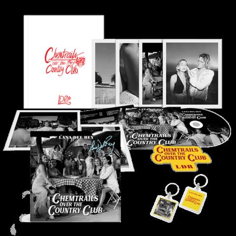 √Chemtrails Over The Country Club (Ltd. Boxset + Key Chain + Signed Art Card) von Lana Del Rey - Box + Schlüsselanhänger jetzt im Lana del Rey Shop