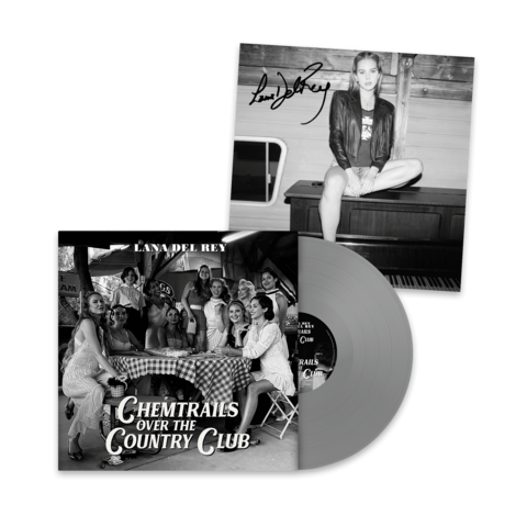 √Chemtrails Over The Country Club (Excl. Grey LP + Signed Art Card 12x12) von Lana Del Rey - Coloured LP + Signed Art Card jetzt im Lana del Rey Shop
