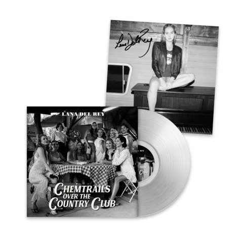 √Chemtrails Over The Country Club (Excl. Transparent LP - Signed Art Card 12x12) von Lana Del Rey - Coloured LP + Signed Art Card jetzt im Lana del Rey Shop