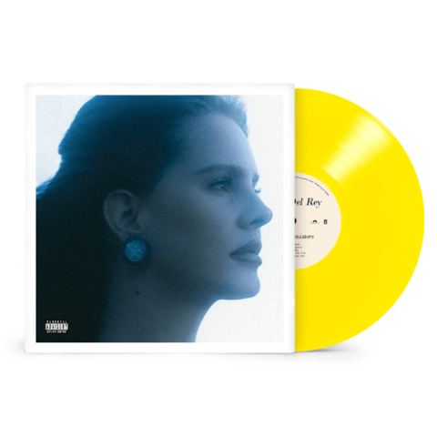 BLUE BANISTERS by Lana Del Rey - TRANSPARENT YELLOW 2LP - shop now at Lana del Rey store