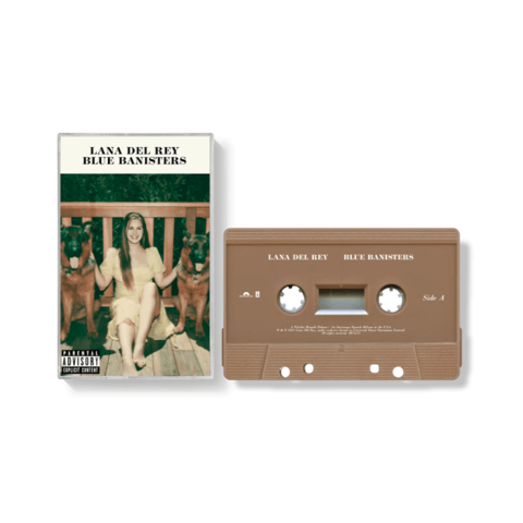 BLUE BANISTERS by Lana Del Rey - EXCLUSIVE CASSETTE - shop now at Lana del Rey store